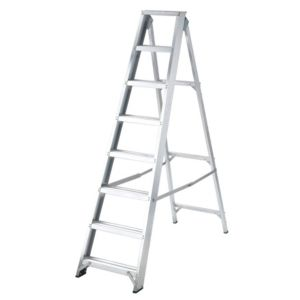 View Abru 8 Tread Aluminium Stepladder, 1.92m details