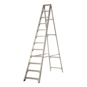 View Abru 10 Tread Aluminium Stepladder, 2.66m details