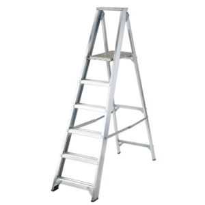 View Abru 6 Tread Aluminium Stepladder, 1.92m details
