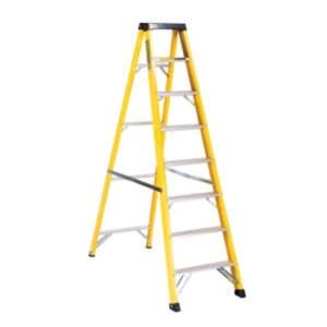 View Abru 8 Tread Fibreglass Stepladder, 1.88m details