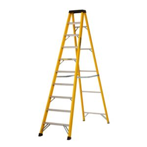 View Abru 10 Tread Fibreglass Step Ladder, 2.34m details