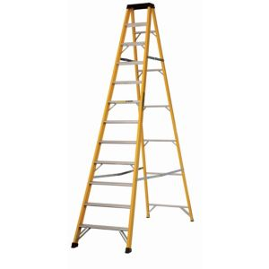 View Abru 12 Tread Fibreglass Stepladder, 2.8m details