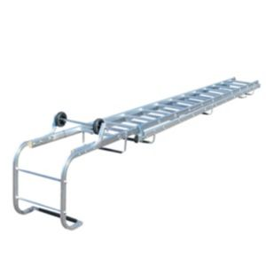 View Werner Aluminium Extendable Roof Ladder, (H)6.05M details