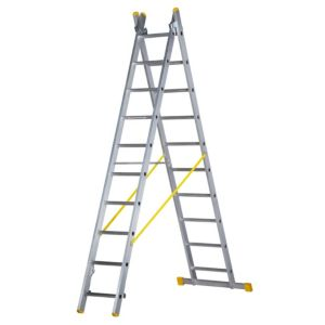 View Abru Aluminium 3-Way Combination Ladder, (H)3.98M details