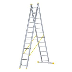 View Abru Aluminium 2-Way Combination Ladder, (H)5.19M details