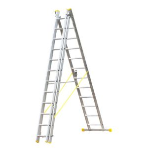View Abru Aluminium 3-Way Combination Ladder, (H)8.24M details
