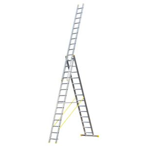 View Abru Aluminium 3-Way Combination Ladder, (H)9.92M details