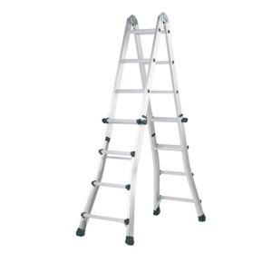 View Abru Aluminium 2-Way Telescopic Telescopic Combination Ladder, (H)4.43M details