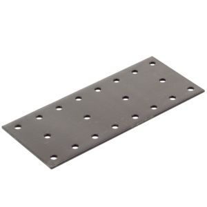 View Abru Brown Steel Perforated Plate (L)140mm details