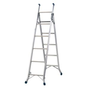 View Werner Aluminium 3-Way Multi-Purpose Combination Ladder, (H)3400mm details