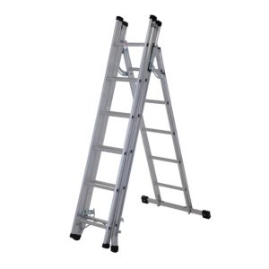 View Werner Aluminium 4-Way Multi-Purpose Combination Ladder, (H)4520mm details