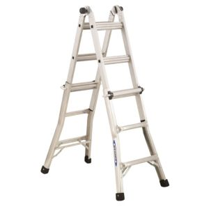 View Werner Aluminium 4-Way Combination Ladder, (H)3.63M details