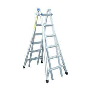 View Werner Aluminium 4-Way Combination Ladder, (H)7.87M details