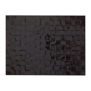 View Designer Black Abstract Ceramic Wall Tile, Pack of 8, (L)300mm (W)400mm details