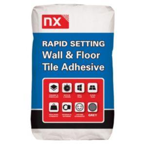 Image of NX Rapid set No Floor & wall adhesive Grey
