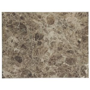 View Illusion Brown Marble Effect Ceramic Wall & Floor Tile, Pack of 10, (L)360mm (W)275mm details