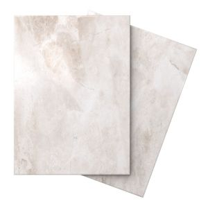 Image of Illusion Cappuccino Marble Effect Ceramic Wall & Floor Tile Pack of 10 (L)360mm (W)275mm