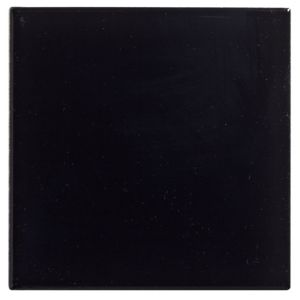 View Utopia Black Ceramic Wall Tile, Pack of 25, (L)100mm (W)100mm details