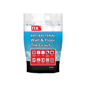 Image of NX Anti-bacterial Grey Grout (W)2.5kg