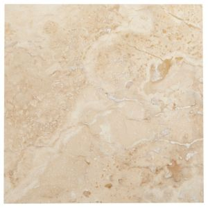 View Single Piece Natural Travertine Wall Tile, (L)305mm (W)305mm details