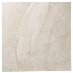 View Manhattan Beige Stone Porcelain Floor Tile, Pack of 3, (L)600mm (W)600mm details