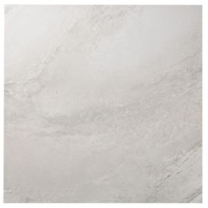 View Manhattan Grey Stone Porcelain Floor Tile, Pack of 3, (L)600mm (W)600mm details