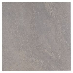 View Antalya Grey Stone Porcelain Floor Tile, Pack of 3, (L)600mm (W)600mm details