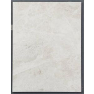 Image of Illusion White Effect Marble Effect Ceramic Wall & Floor Sample Tile (L)360mm (W)275mm