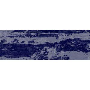 Image of Aura Indigo Satin Ceramic Wall tile Pack of 34 (L)300mm (W)100mm