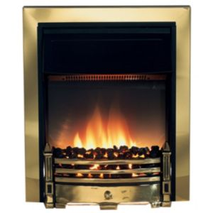 View Dimplex Whitsbury Brass Inset Electric Fire details