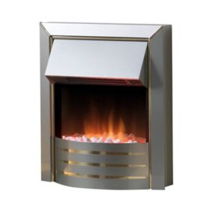 View Dimplex Siva Electric Inset Fire, Stainless Steel Effect details