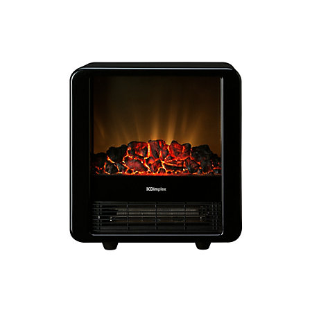 Dimplex Micro Fire Black Freestanding Electric Stove