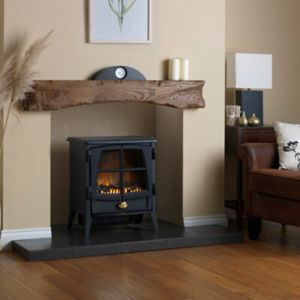 View Dimplex Jazz Black Electric Freestanding Stove details