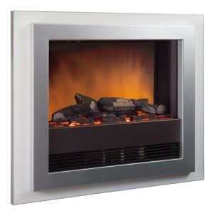 View Dimplex Bizet Electric Wall Hung Fire, Chrome Effect details