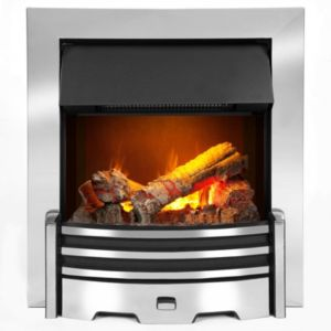View Dimplex Opti-Myst Chrome Inset Electric Fire details