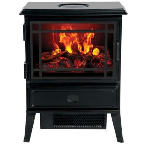 View Dimplex Traditional Optimyst Electric Freestanding Stove, Cast Iron Effect details