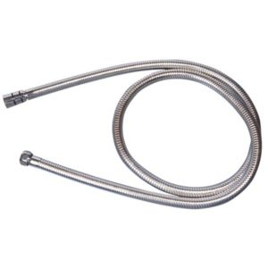View Aqualona Chrome Effect Metal Shower Hose 1.5m details
