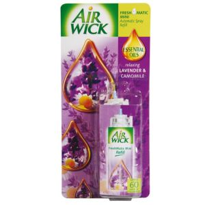 View Airwick Freshmatic Lavender Air Freshener Refill details