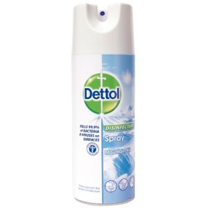 View Dettol Disinfectant Spray 400ml details