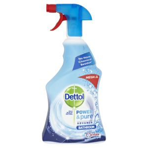 Image of Dettol Power & pure Bathroom cleaner 1000 ml