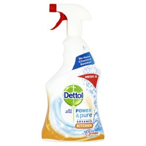 Image of Dettol Power & pure Kitchen cleaner 1000 ml