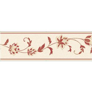 View Annabell Cream & Red Floral Border details