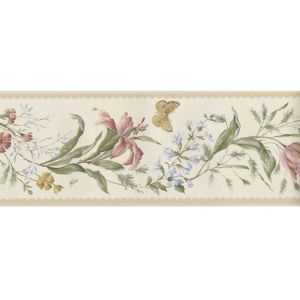 View Butterfly Multicolour Floral Border details