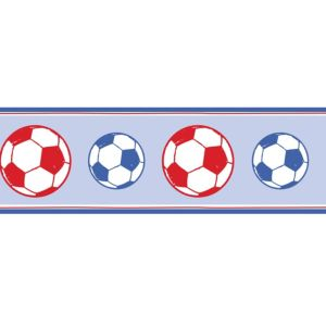 View Fun4Walls Football Blue & Red Border details