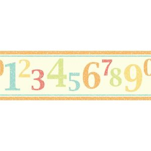 View Fun4Walls Numbers Multicolour Childrens Border details