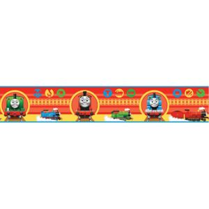 View Fun4Walls Thomas The Tank Engine Multicolour Border details