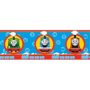 View Fun4Walls Thomas The Tank Engine Multicolour Childrens Border details