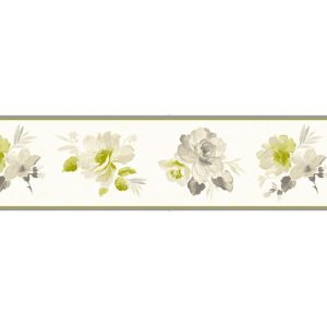 View Genevieve Green Floral Border details