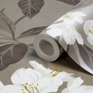 View Hawaii Chocolate & Cream Wallpaper details
