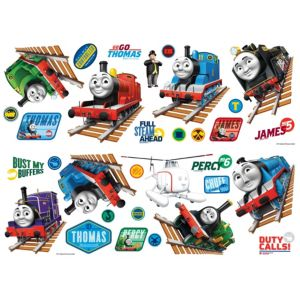 View Fun4Walls Thomas The Tank Engine Wall Stickers (L)330mm x (W)190mm details